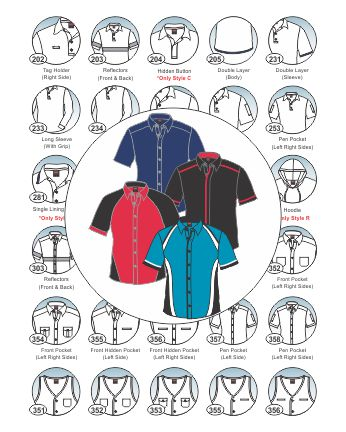 option parts_shirt unisex