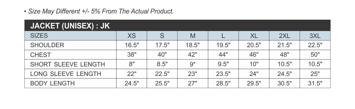 size chart_jacket_jk